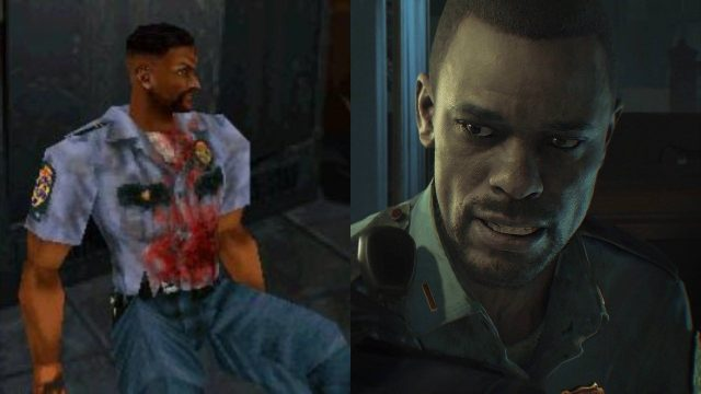 RE2 Marvin Original vs Remake