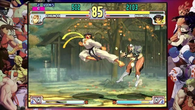 Street Fighter 30th Anniversary Collection Review Makoto