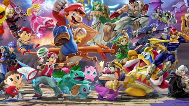 Super Smash Bros Ultimate Download Size for the Nintendo
