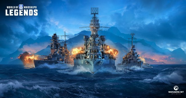 World of Warships Legends Wargaming