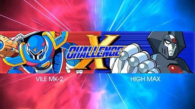 Megaman X Legacy Collection X Challenge Mode