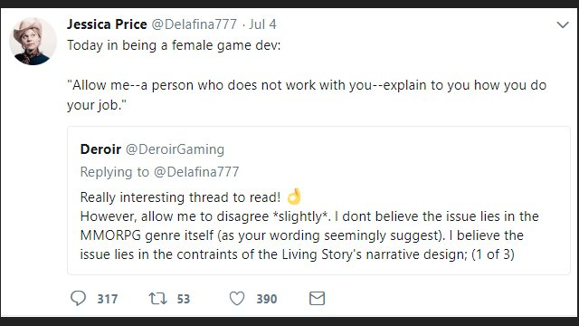 ArenaNet Fires Two Employees Over Twitter Spat with Guild