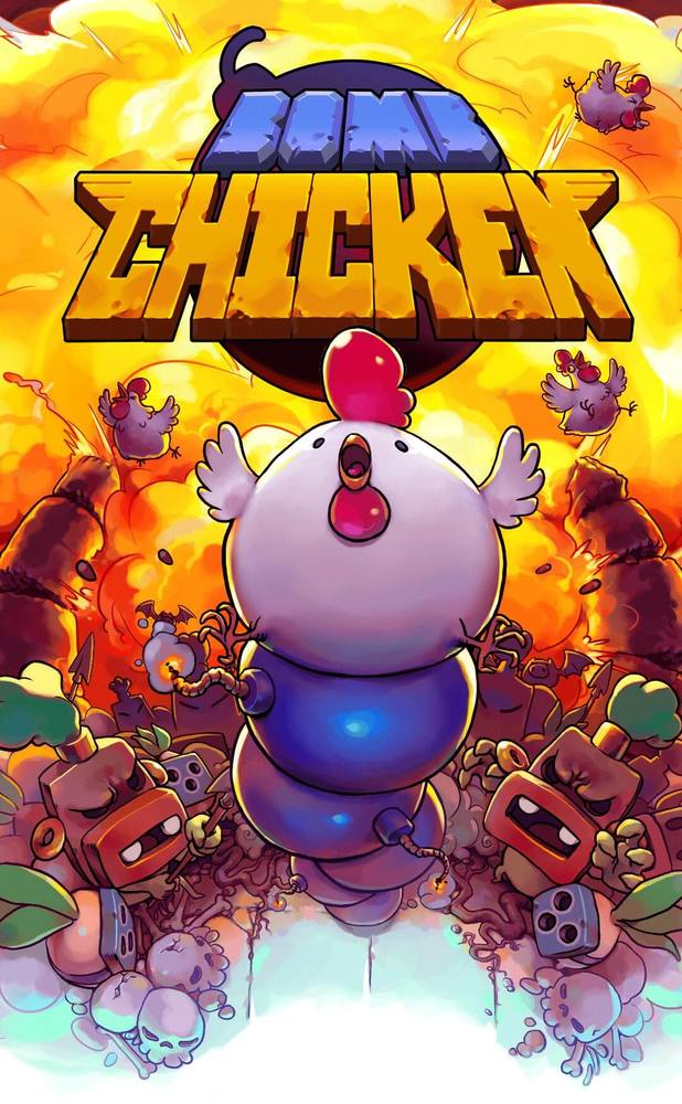 Box art - Bomb Chicken