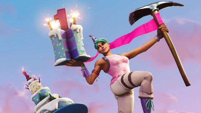 Fabulous Fortnite Birthday Cake Back Bling How Do I Get The First Birthday Funny Birthday Cards Online Elaedamsfinfo