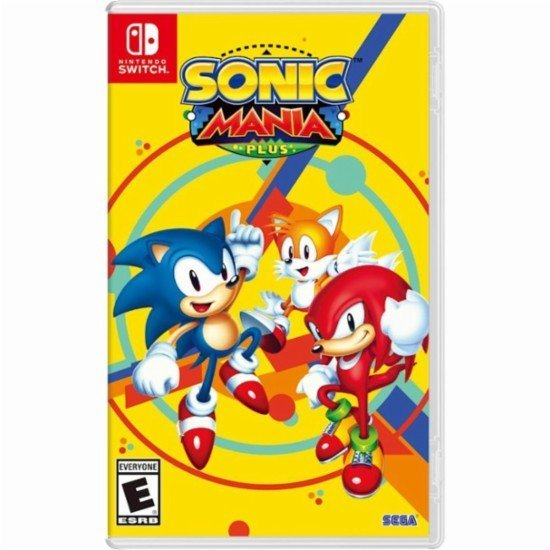 Box art - Sonic Mania Plus