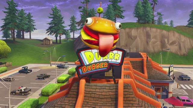 fortnite durr burger irl