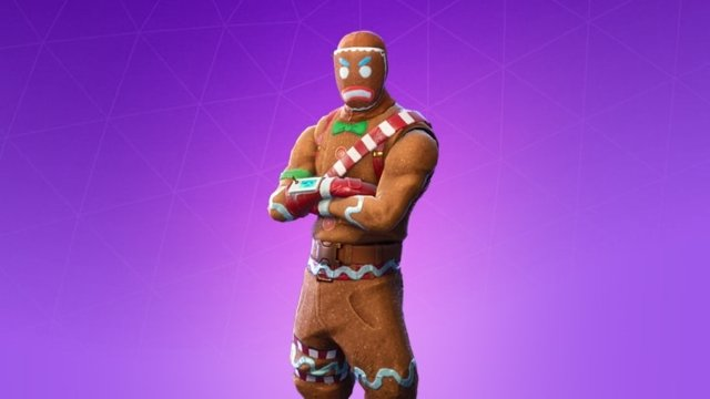 Fortnite Gingerbread Man Costume Related Keywords Suggestions