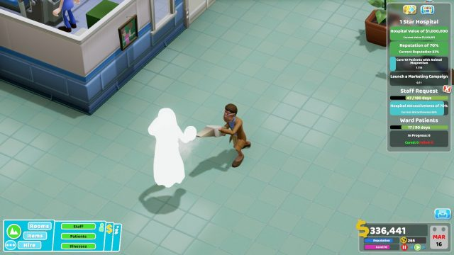 Two Point Hospital Ghostbusters