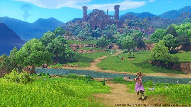 Dragon Quest 11 Review Approaching Ruins