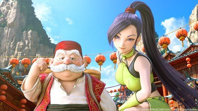 Dragon Quest 11 Review Rab and Jade