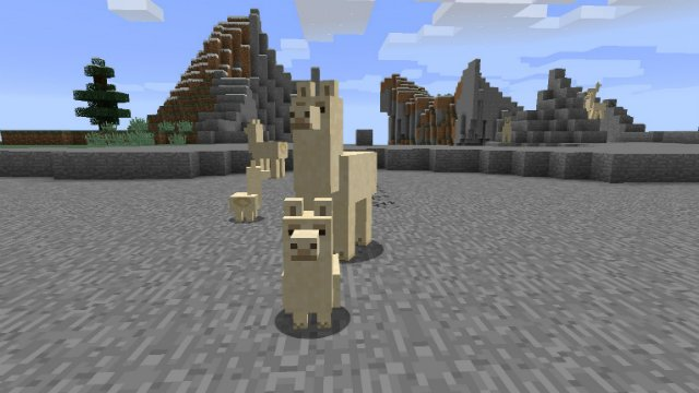 Minecraft How to Ride a Llama