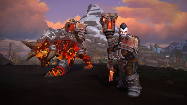 Wow BfA Allied Races Dark Iron