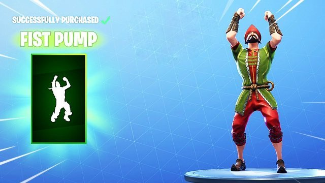 Fortnite Fist Pump Emote