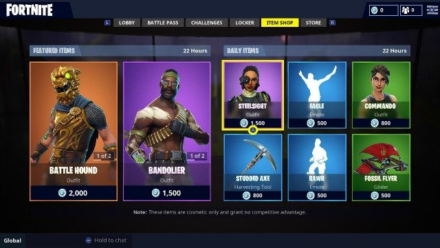 Fortnite Item Shop September 5