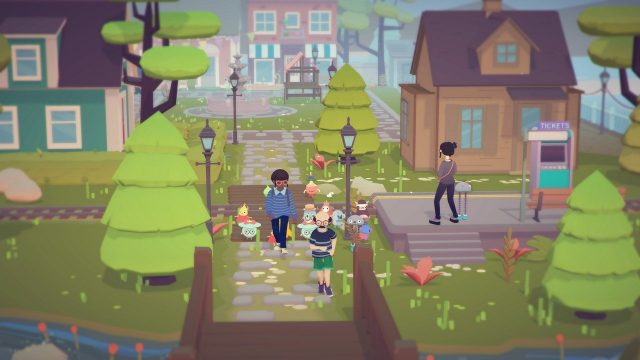 Ooblets Preview marching through badgetown