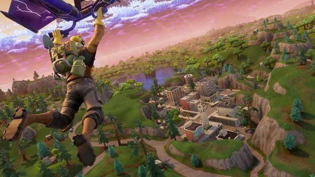 Fortnite Tilted Towers Change