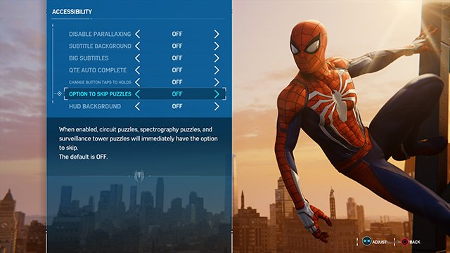 Spider-Man PS4 QTE Auto Complete On or Off? - GameRevolution