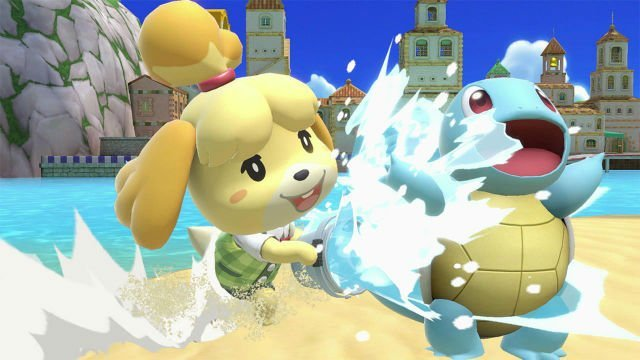 super smash bros ultimate isabelle