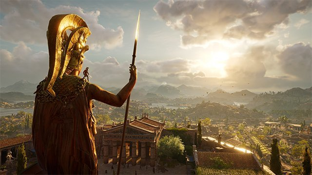 Assassins Creed Odyssey Sales and sunsets.
