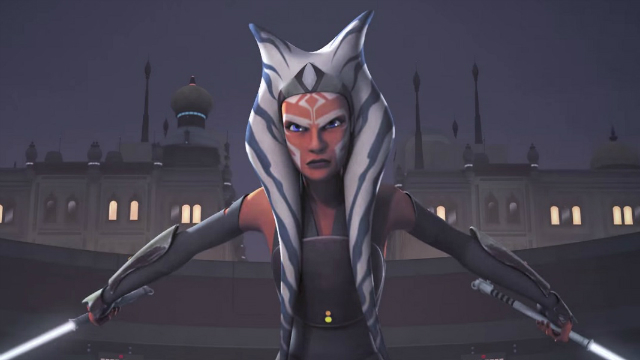 Battlefront 2 Ahsoka and Padme