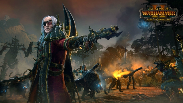 New Total War Warhammer 2 DLC Curse of the Vampire Coast