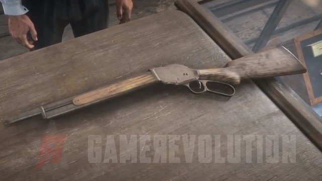 Red Dead Redemption 2 Repeating Shotgun