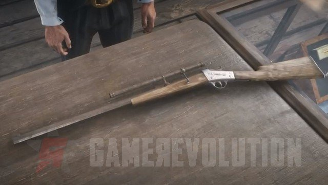 Red Dead Redemption 2 Rolling Block Rifle