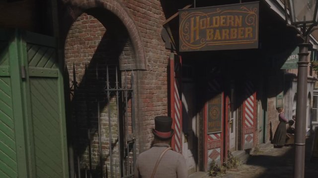 Red Dead Redemption 2 Saint Denis Barber