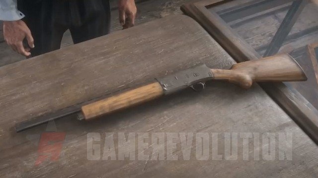 Red Dead Redemption 2 Semi-Auto Shotgun