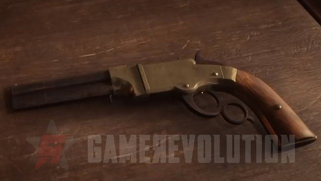 Red Dead Redemption 2 Volcanic Pistol
