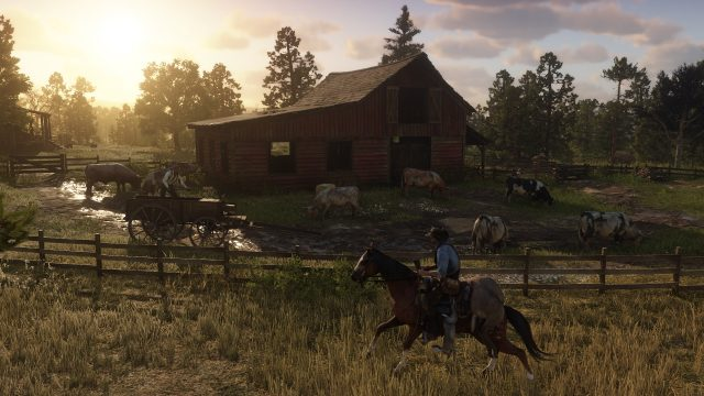 The Red Dead Redemption 2 map couldn't fit in that barn.