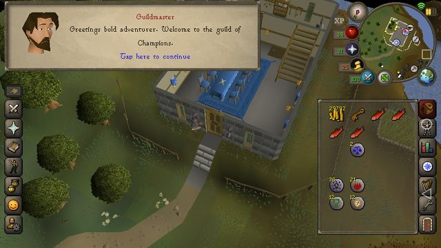 Old School Runescape Mobile Impressions Mmo To Go Gamerevolution