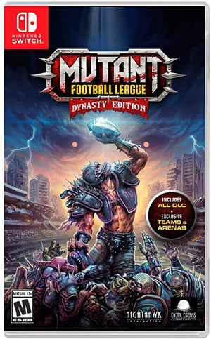 Box art - Mutant Football League Dynasty Edition Review – Football at Its Rawest Form