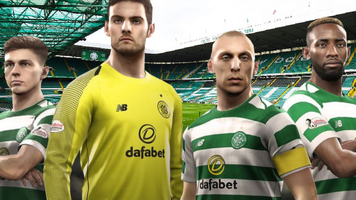 celtic pes esports team