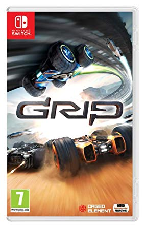 Box art - Grip: Combat Racing Review – Drifting on the Ceiling