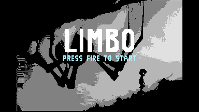 Limbo Commodore 64 version, sans scanline filter.
