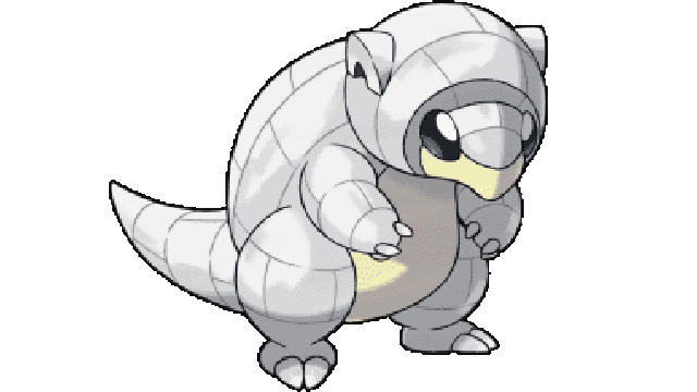 Pokemon Let's Go Alolan Sandshrew