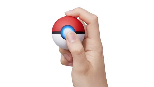 Pokemon Let's Go Poke Ball Plus