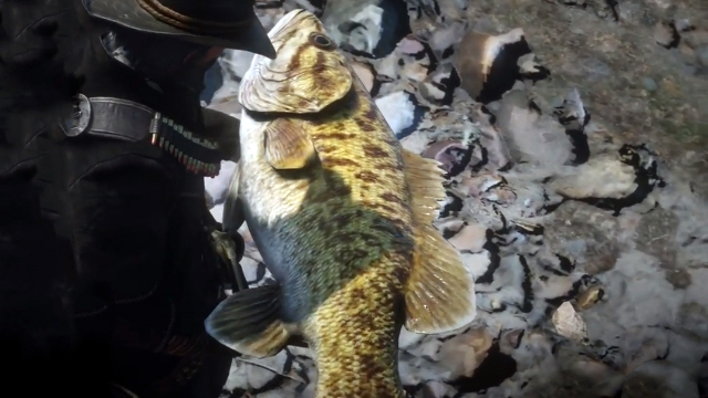 Red Dead Redemption 2 Legendary Smallmouth Bass