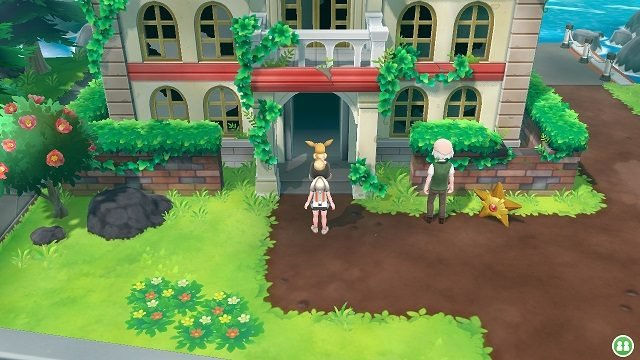Pokemon Let's Go Gym 7 - Cinnabar Island cinnabar burned