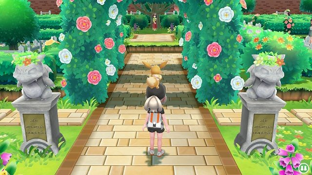 Pokemon Let's Go Gym 4 - Celadon City celedon celedon gym erika