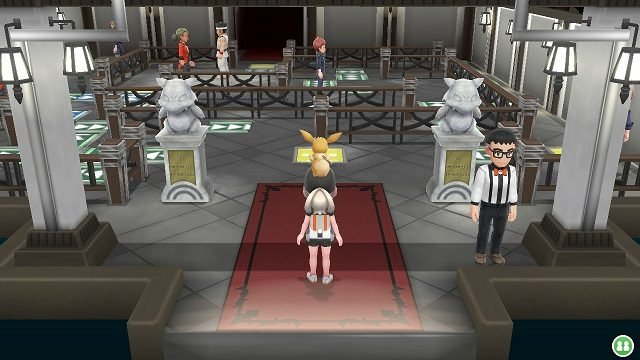 Pokemon Let's Go Gym 8 - Viridian City viridian gym inside viridian