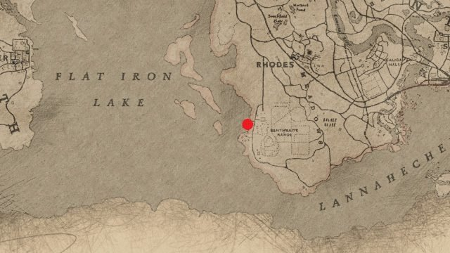 Red Dead Redemption 2 naval compass location