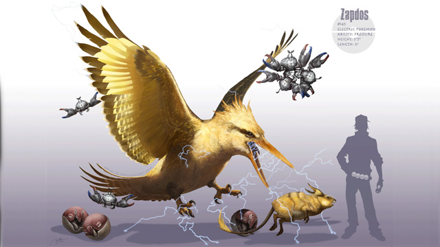 Bird Like Aliens Concept Art