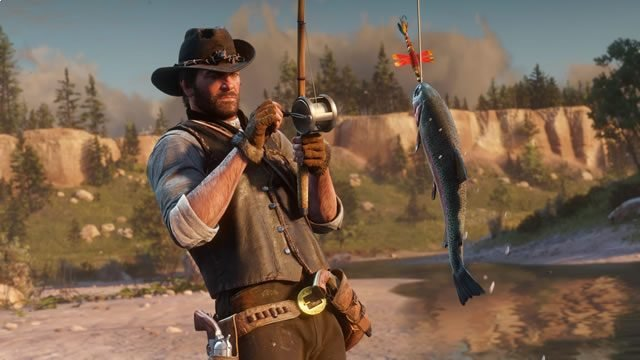 Red Dead Redemption 2 cooking recipes - Succulent Fish