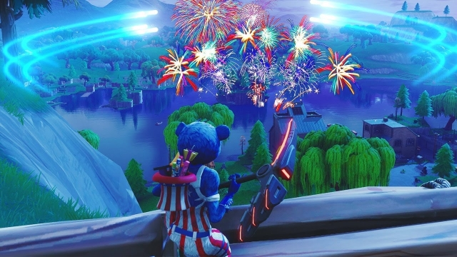 Fortnite Fireworks Locations Map Gamerevolution
