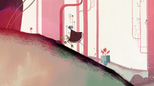 Gris Gameplay Sidescrolling
