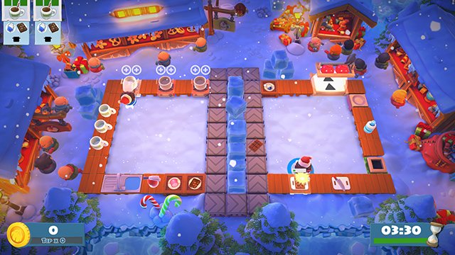 Overcooked 2 Free Holiday DLC Available Now - GameRevolution