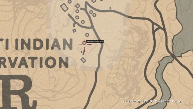 Red Dead Redemption 2 Dynamite Arrow location