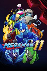 Box art - Mega Man 11